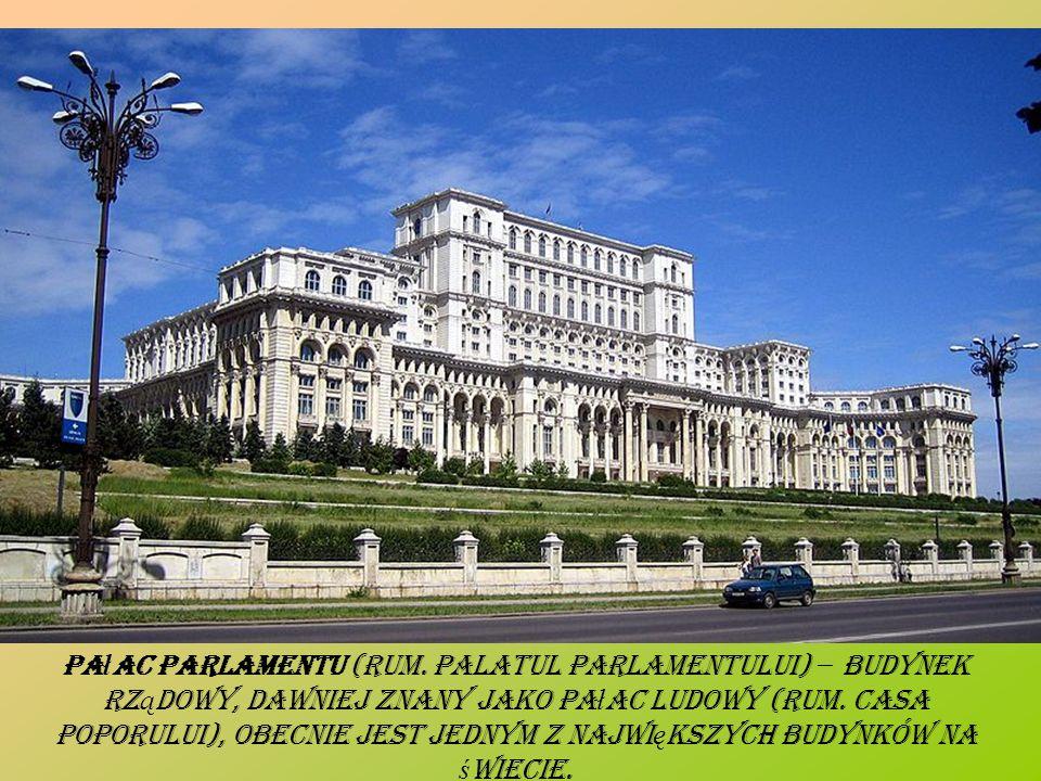 Pałac Parlamentu (rum.