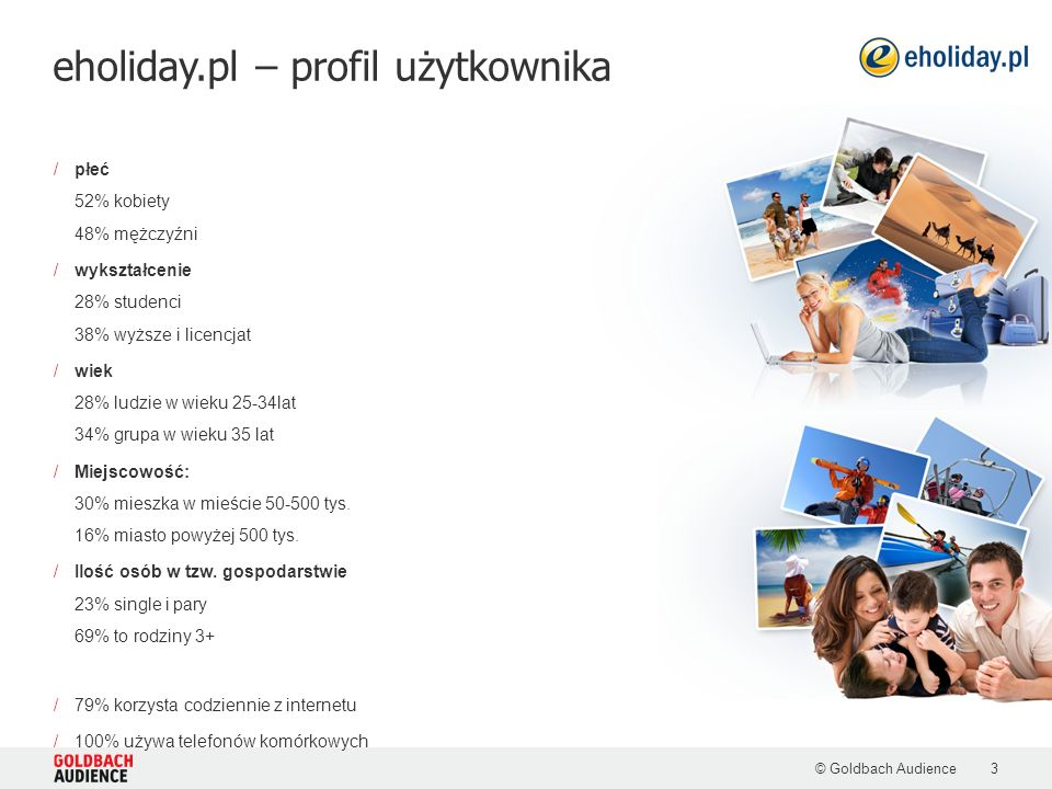 eholiday.pl – profil użytkownika