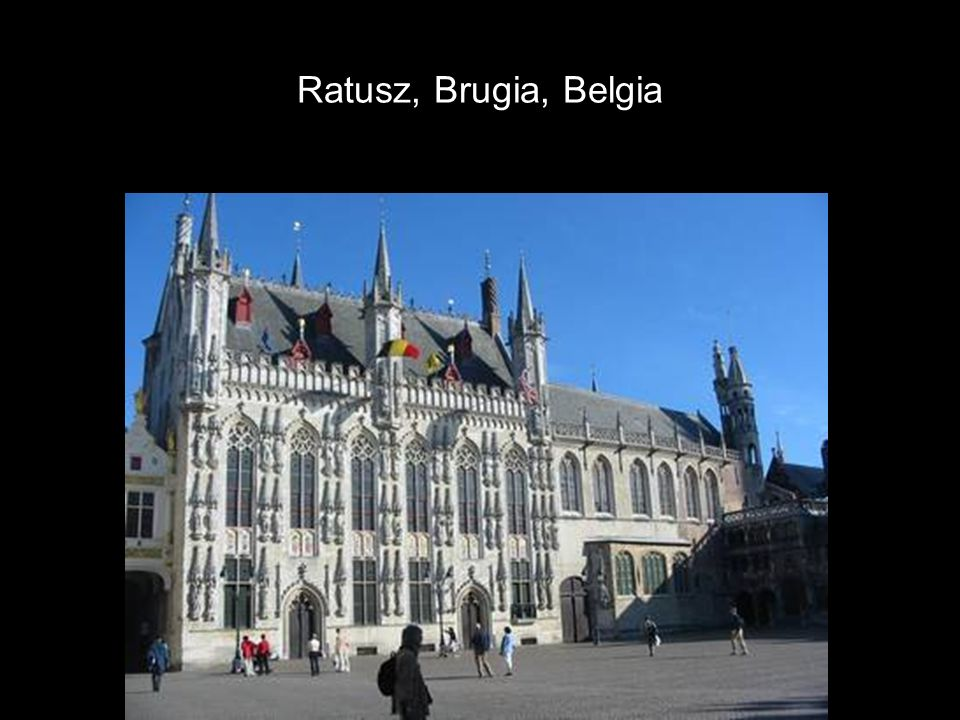 Ratusz, Brugia, Belgia