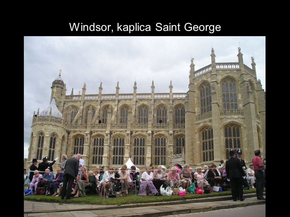 Windsor, kaplica Saint George
