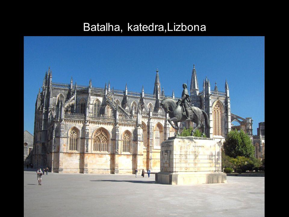 Batalha, katedra,Lizbona