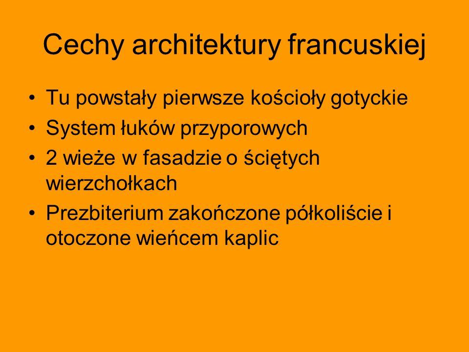 Cechy architektury francuskiej