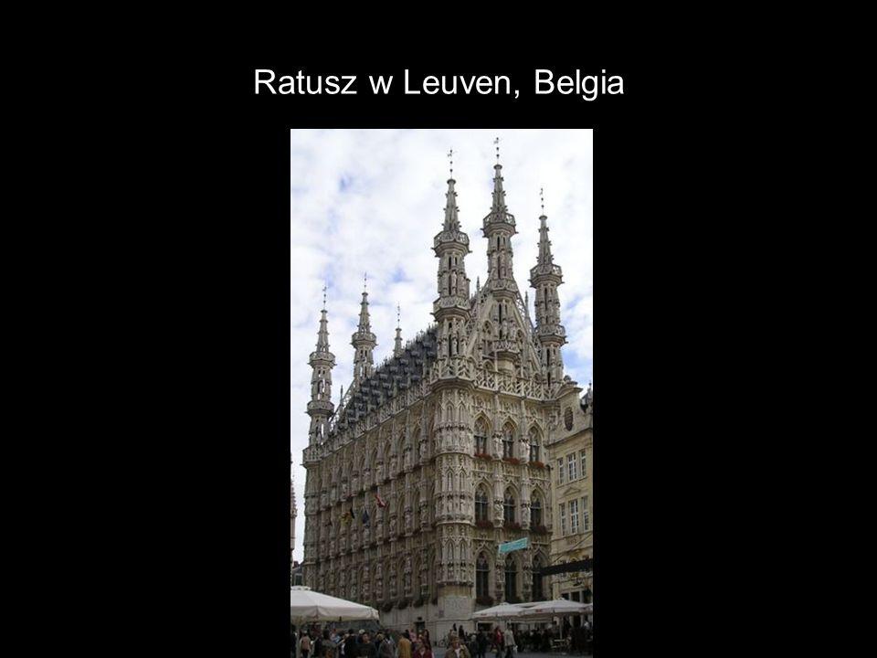 Ratusz w Leuven, Belgia