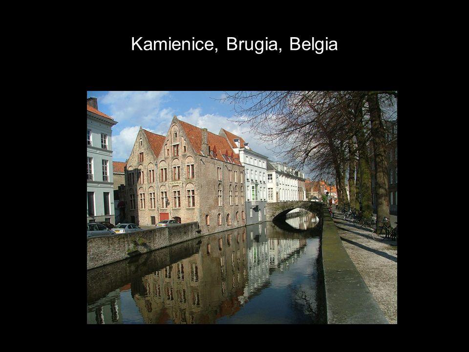 Kamienice, Brugia, Belgia