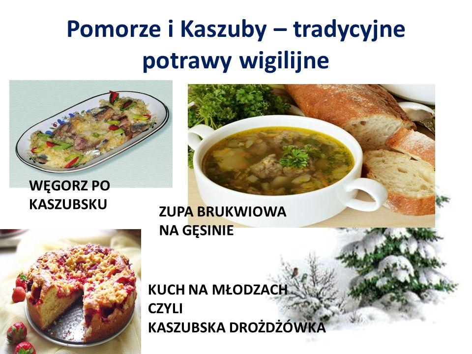Pomorze i Kaszuby – tradycyjne potrawy wigilijne