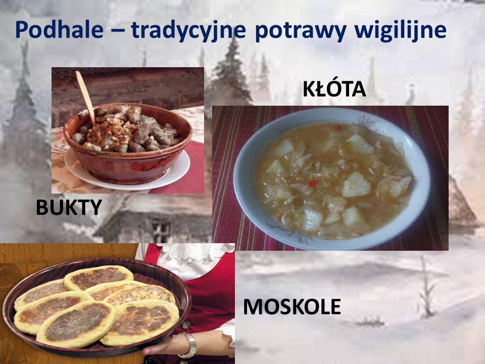 Podhale – tradycyjne potrawy wigilijne