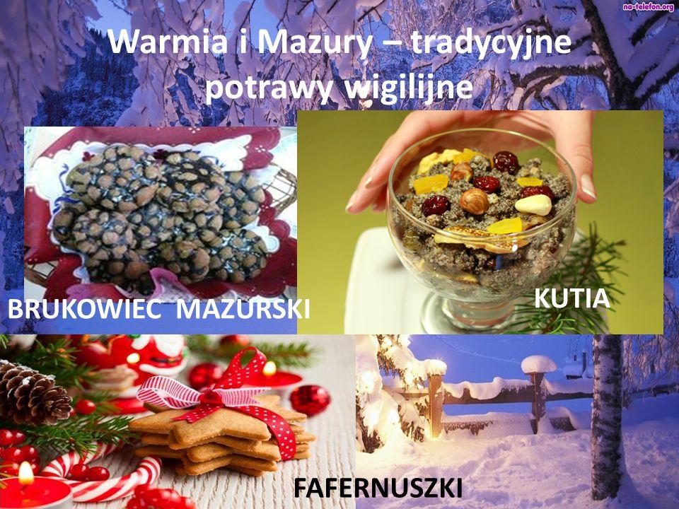 Warmia i Mazury – tradycyjne potrawy wigilijne