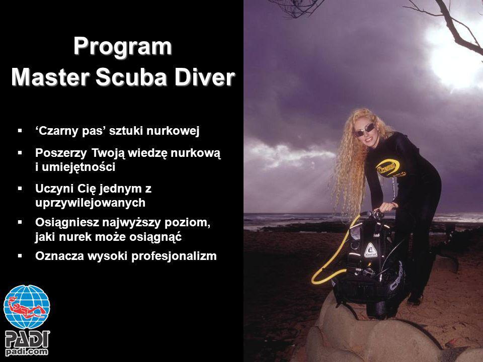 Program Master Scuba Diver