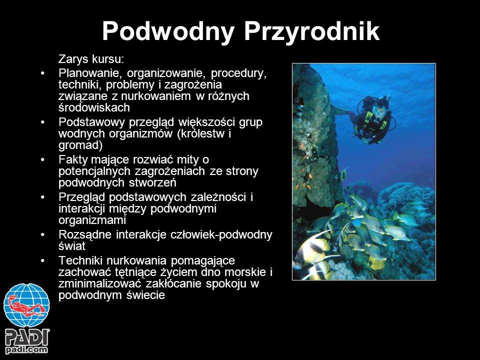 Podwodny Przyrodnik Zarys kursu: