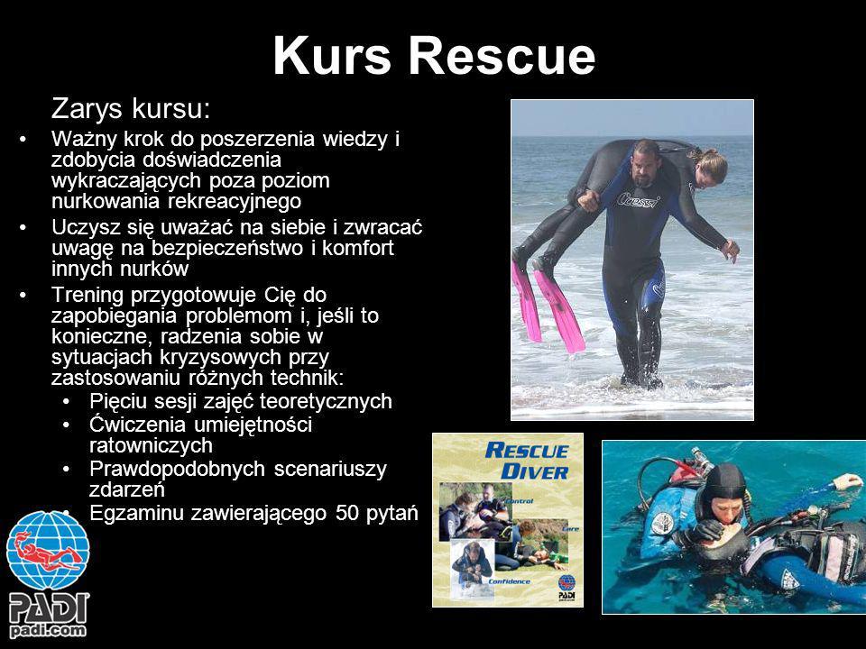 Kurs Rescue Zarys kursu: