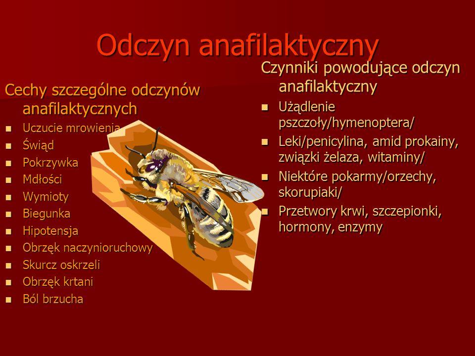 Odczyn anafilaktyczny