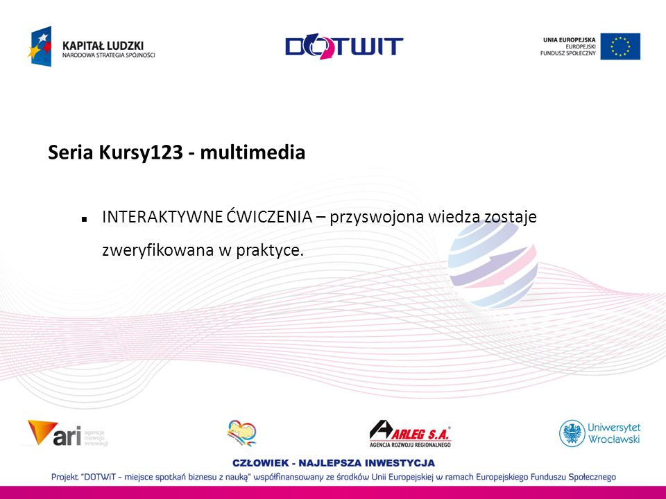 Seria Kursy123 - multimedia