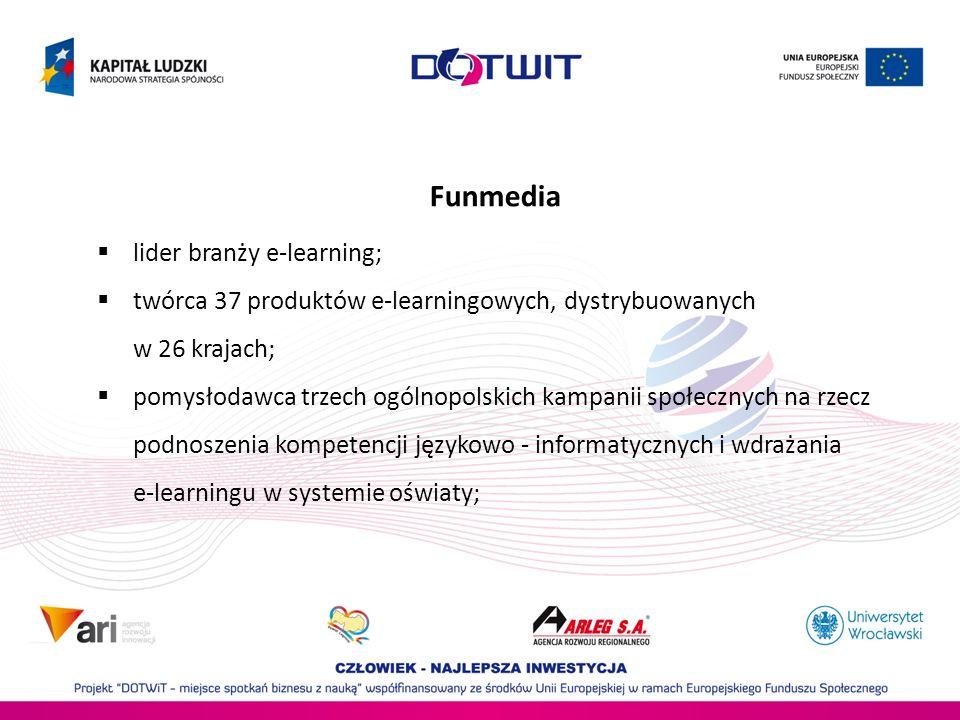 Funmedia lider branży e-learning;