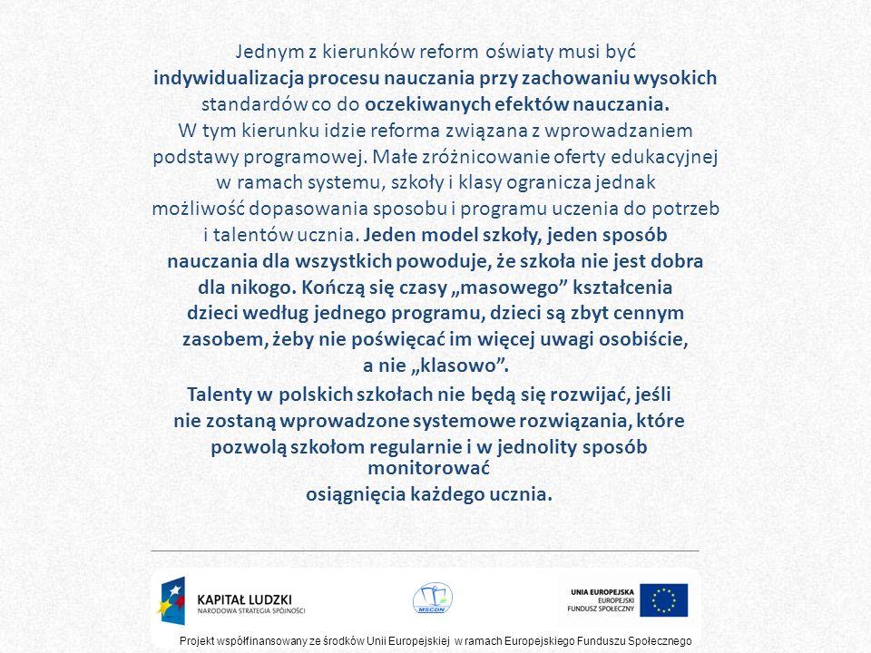 Talenty w polskich szkołach nie będą się rozwijać, jeśli