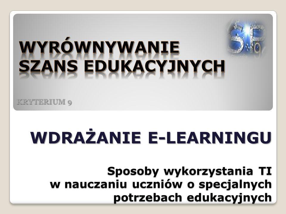 Wyrównywanie szans edukacyjnych