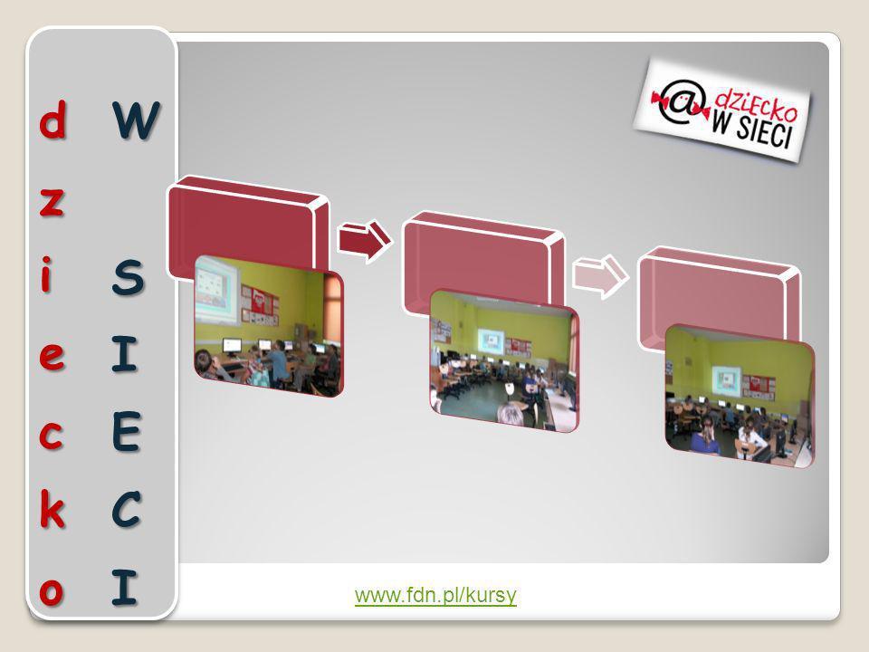 dziecko W SIECI www.fdn.pl/kursy
