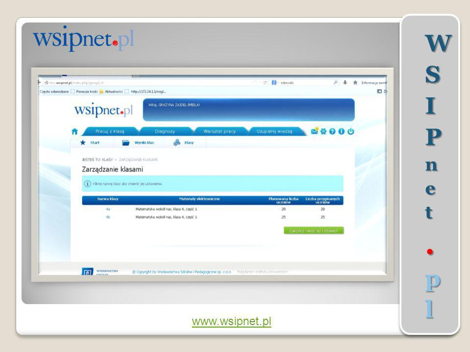WSIPnet.pl www.wsipnet.pl