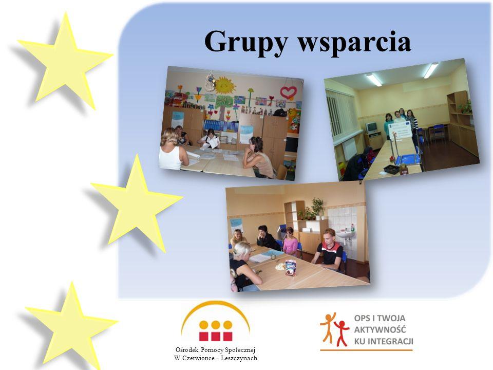 Grupy wsparcia Ośrodek Pomocy Społecznej W Czerwionce - Leszczynach