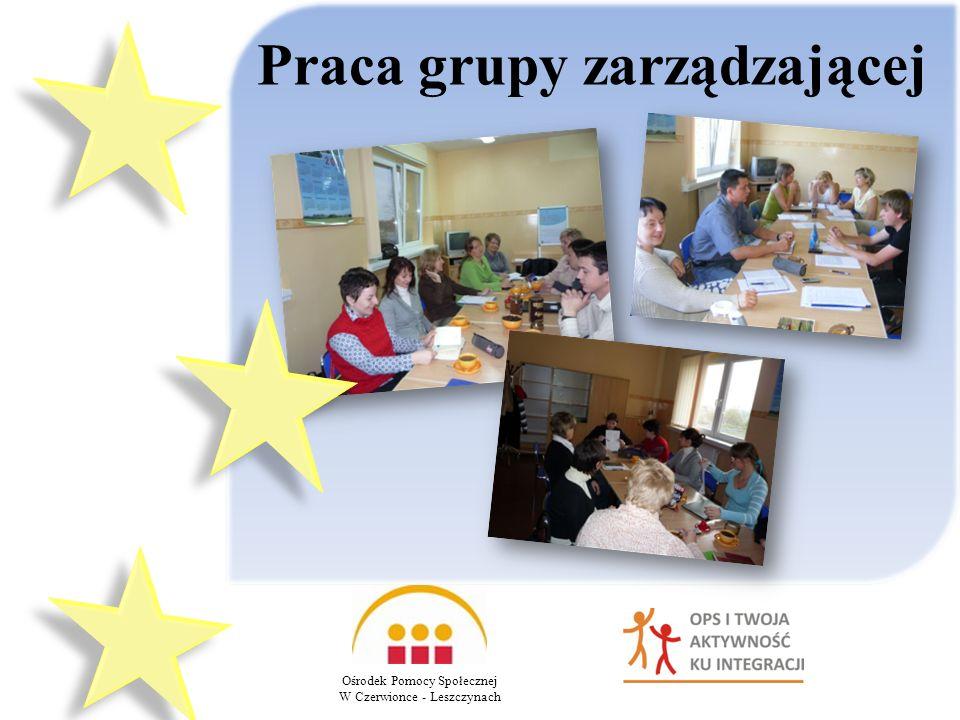Praca grupy zarządzającej