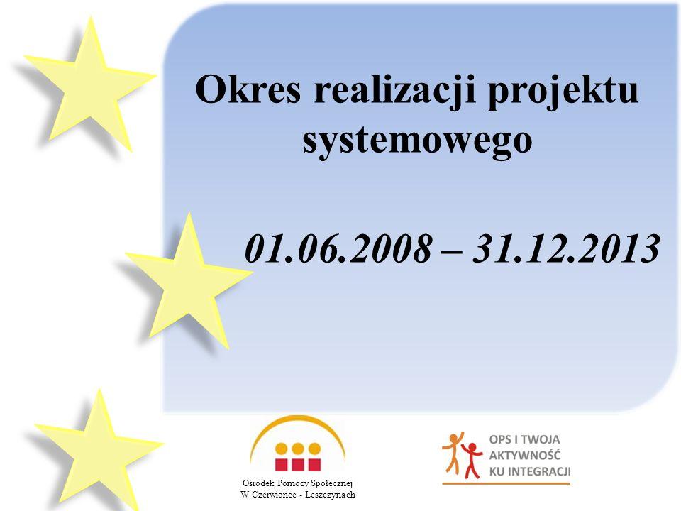 Okres realizacji projektu systemowego