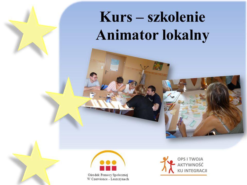 Kurs – szkolenie Animator lokalny