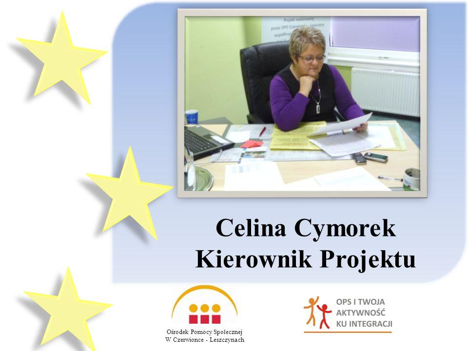 Celina Cymorek Kierownik Projektu