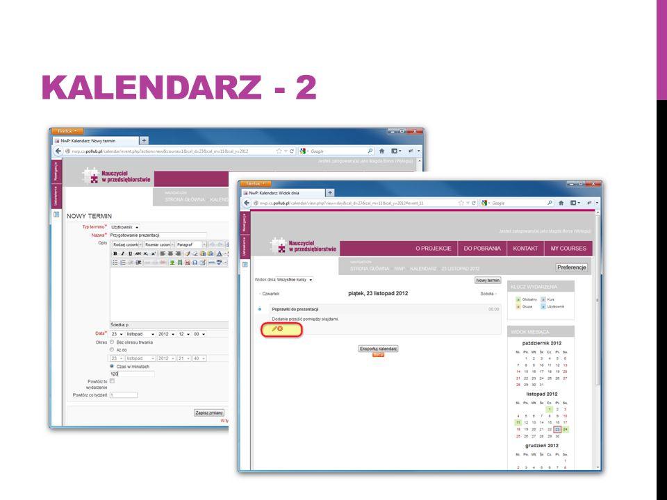 Kalendarz - 2