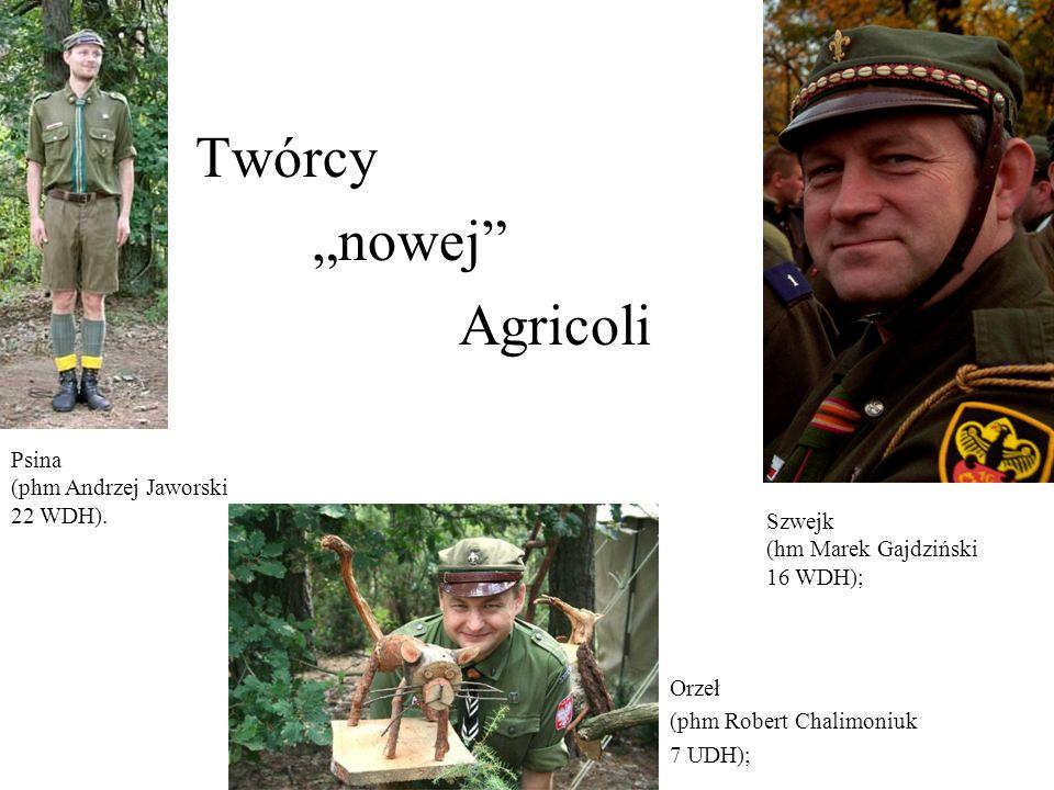 """Twórcy """"nowej Agricoli Psina (phm Andrzej Jaworski 22 WDH)."""