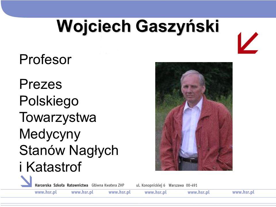 Wojciech Gaszyński Profesor