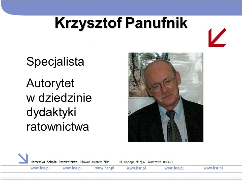 Krzysztof Panufnik Specjalista