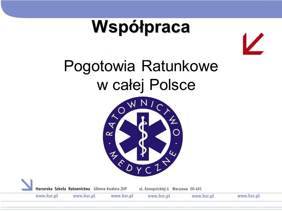 Pogotowia Ratunkowe w całej Polsce