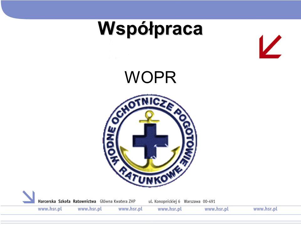 Współpraca WOPR