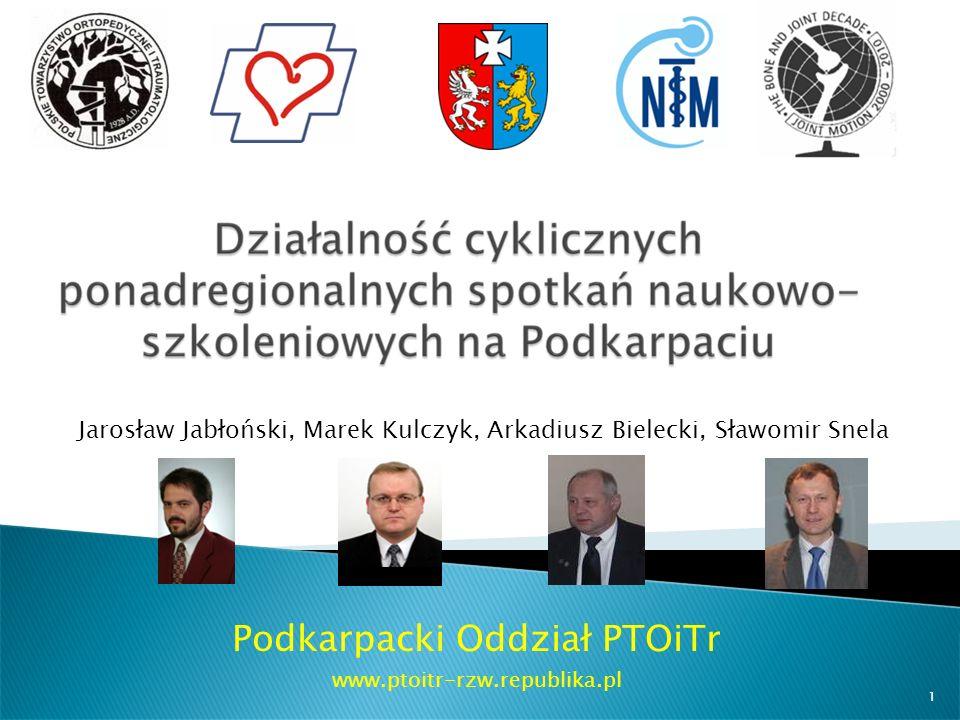 Podkarpacki Oddział PTOiTr www.ptoitr-rzw.republika.pl
