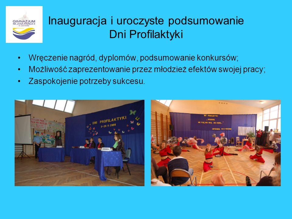 Inauguracja i uroczyste podsumowanie Dni Profilaktyki