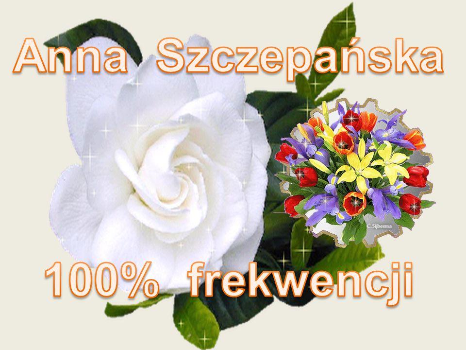 Anna Szczepańska 100% frekwencji