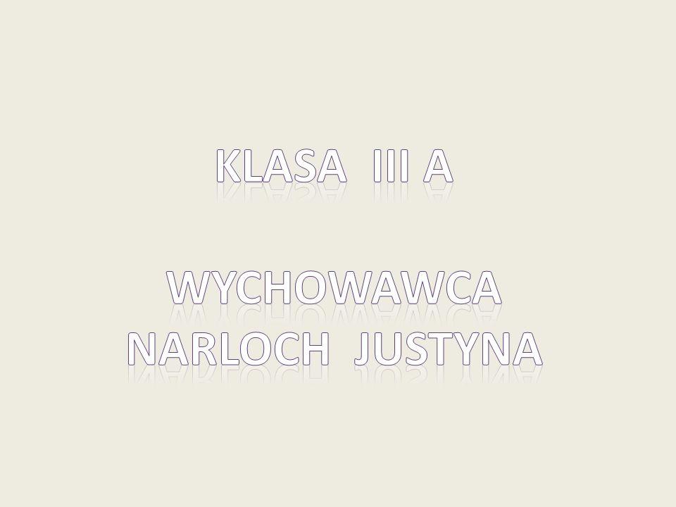 Klasa IiI a Wychowawca Narloch justyna