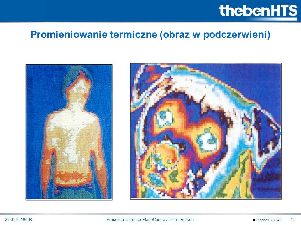 Promieniowanie termiczne (obraz w podczerwieni)