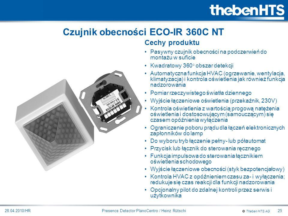 Czujnik obecności ECO-IR 360C NT