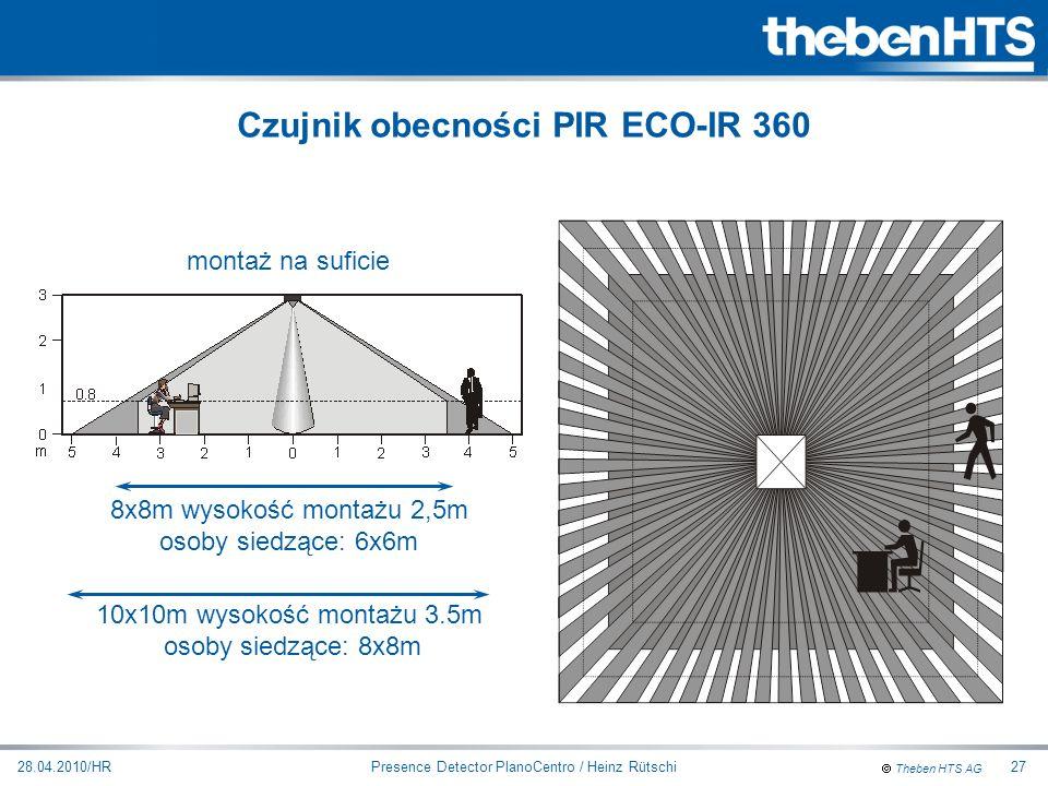 Czujnik obecności PIR ECO-IR 360