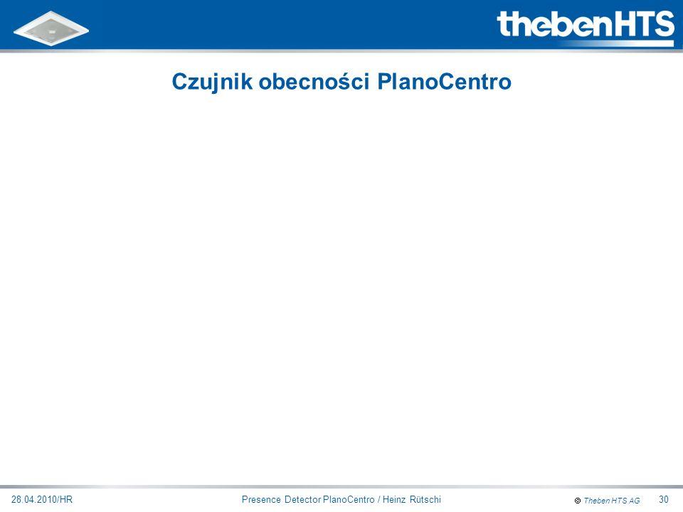 Czujnik obecności PlanoCentro