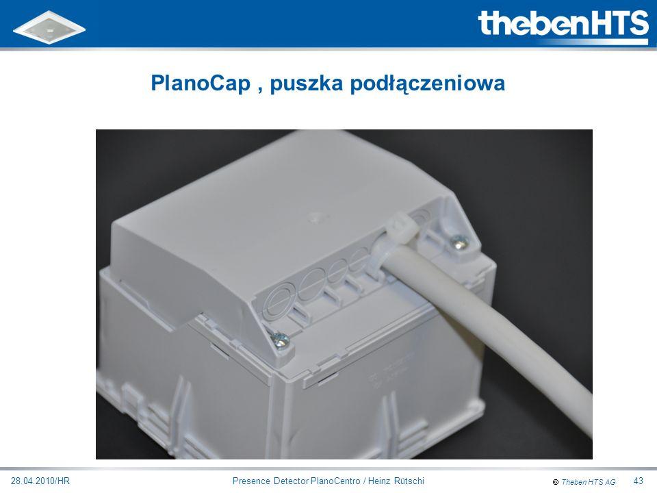 PlanoCap , puszka podłączeniowa