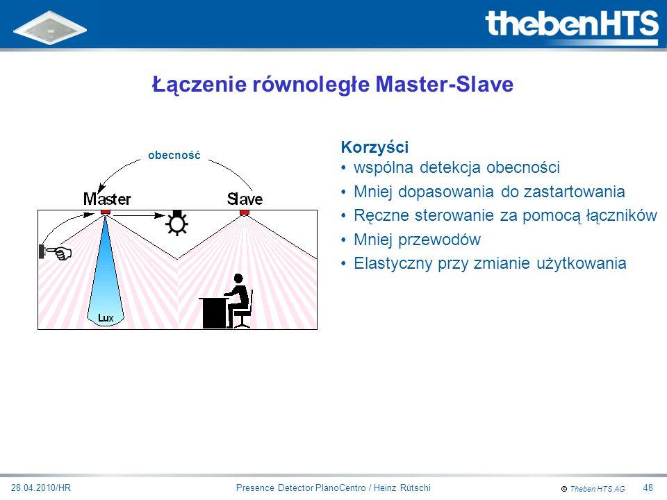 Łączenie równoległe Master-Slave