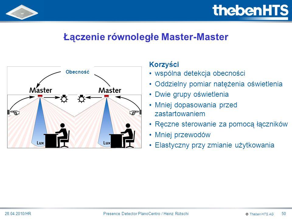 Łączenie równoległe Master-Master