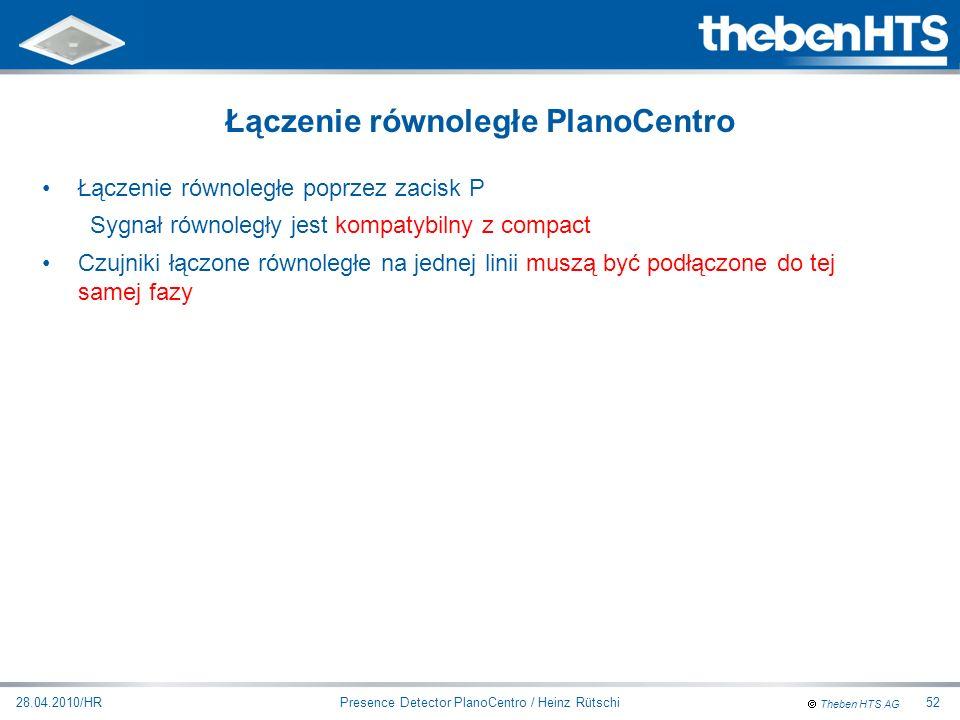 Łączenie równoległe PlanoCentro