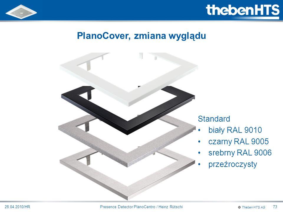 PlanoCover, zmiana wyglądu