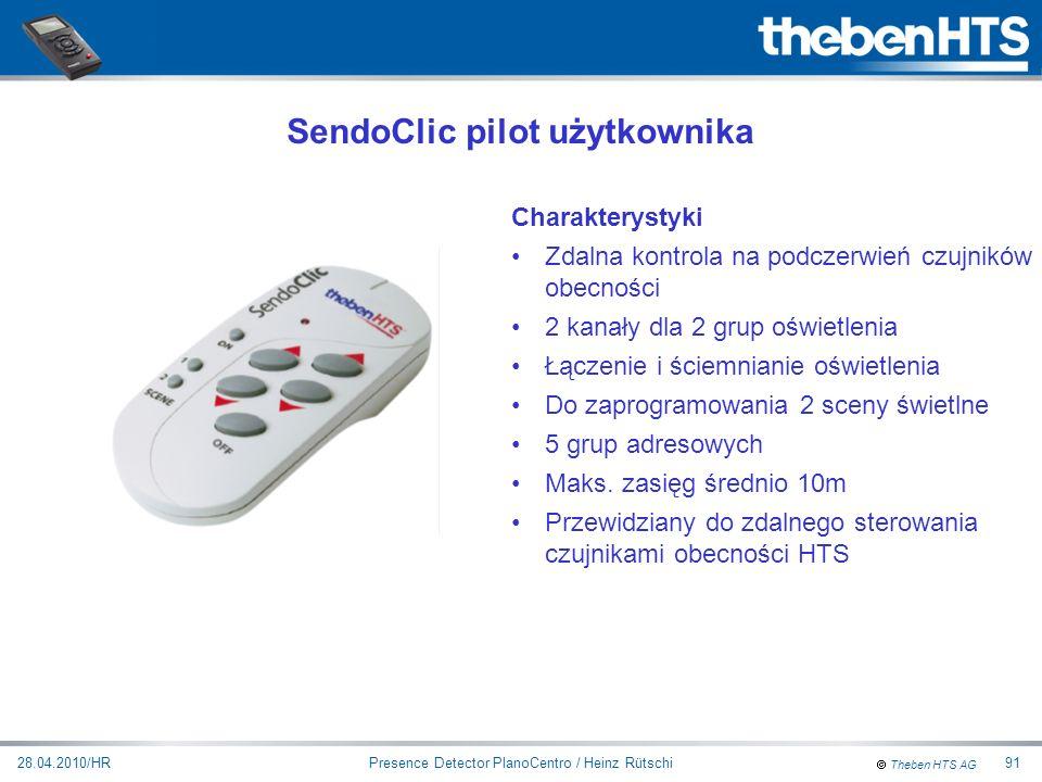 SendoClic pilot użytkownika