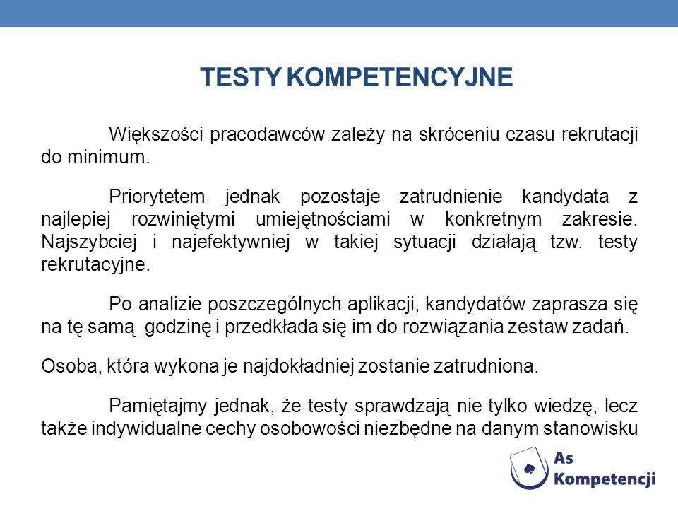 Testy kompetencyjne