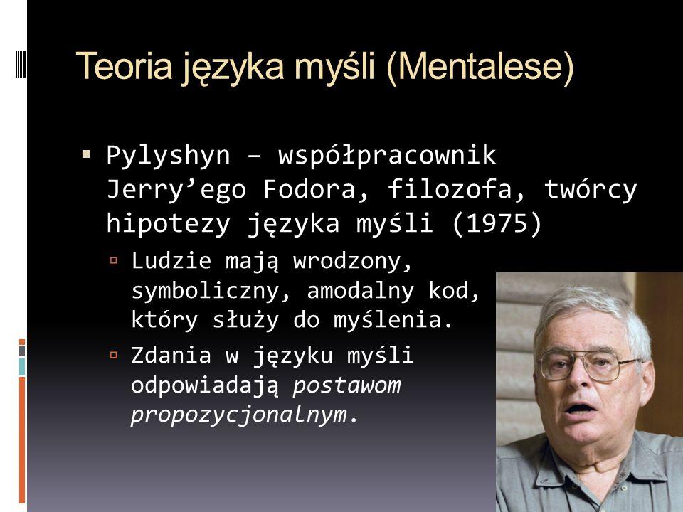 Teoria języka myśli (Mentalese)