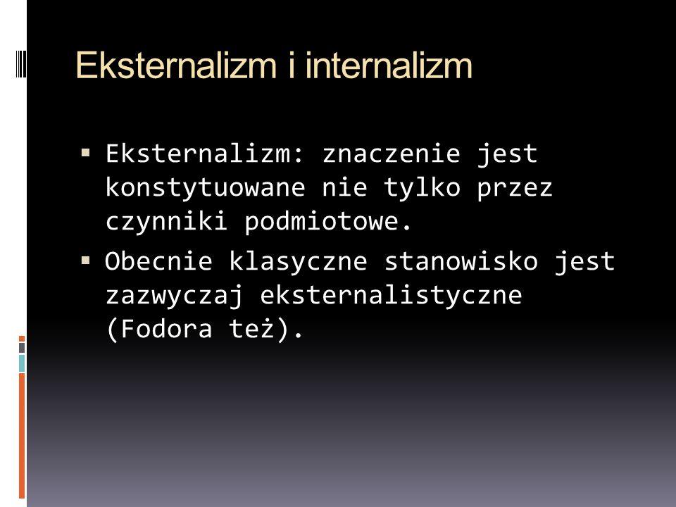 Eksternalizm i internalizm