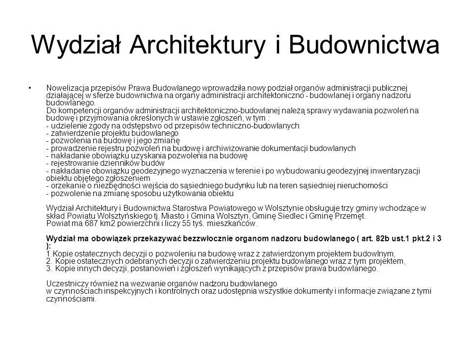 Wydział Architektury i Budownictwa
